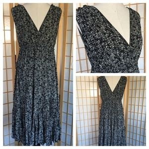 Studio M Stretch Print Dress Plus SZ 1X